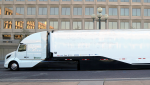 The Volvo SuperTruck made a stop at Energy Department headquarters in Washington, D.C. on Tuesday, September 13, 2016.