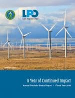 Fiscal Year 2018 Annual Portfolio Summary report cover