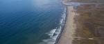 Tijuana River National Estuarine Research Reserve coastline.