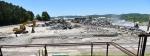 Demolition progress at K-1037