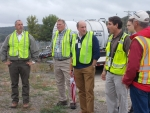 Under Secretary Dabbar Tours West Valley Cleanup, Meets With Stakeholders
