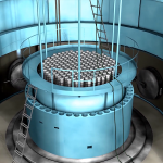 Picture of a reactor core