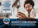 Calling all manufacturing workers - apply by may 15 2020.
