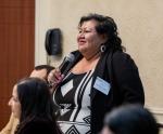 Bernadette Cuthair at Program Review.