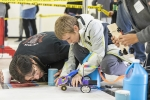 START YOUR ENGINES — Student teams designed and raced electric cars with guidance from their coaches in the 12th annual New Mexico Electric Car Challenge.