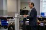 Under Secretary of Energy Mark W. Menezes Visits the Washington Auto Show.