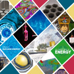 collage of nuclear science photos