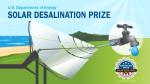 American Made Solar Desalination Prize Banner Image