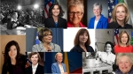 Pictures of some of the women who were first in their field, position, or recognition at DOE.