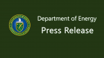 DOE Press Release - Generic Thumbnail