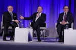 Pictured from Left to Right: U.S. Secretary of Energy Dan Brouillette, Israel's Minister of Energy Dr. Yuval Steinitz, and Egypt's Minister of Petroleum H.E. Tarek El-Molla