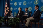Picture of a panel from the Asian Pacific American Islander (AAPI) Heritage Month Program on May 7, 2019.