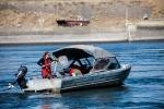 PNNL researchers retrieve the Sensor Fish after they've traveled through the dam.