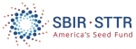 "Logo image that says ""SBIR - STTR"" and ""America's Seed Fund."""
