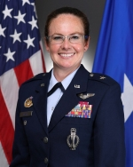 Brig. Gen. Stacy Jo Huser, Principal Assistant Deputy Administrator for Military Application in NNSA's Office of Defense Programs.