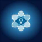 image icon of an atom