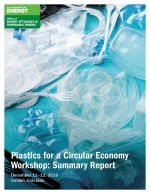 screenshot of the Plastics for a Circular Economy Workshop: Summary Report