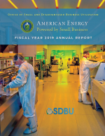 Cover of FY 2019 Annual Report