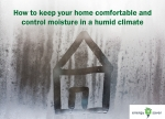 Humid Climate Energy Saver