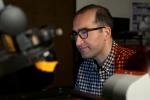 """Moh El-Naggar studies """"electric bacteria"""" in his laboratory at the University of Southern California Dornsife."""