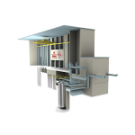 Versatile Test Reactor project mock up