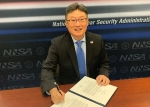 Dr. Brent Park, NNSA's Deputy Administrator for Defense Nuclear Nonproliferation, signed the joint statement on behalf of the United States.