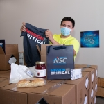"The KCNSC appreciation boxes contain a ""mission critical"" T-shirt, local farm-fresh jam and biscuits, hand sanitizer, a touchless safety tool, and a personal message from the site's leadership."