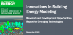 BTO Research and Development Oppportunities (RDO) document for Building Energy Modeling (BEM)