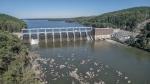 Photo of High Rock dam.