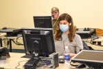 Bernice Bunker and Justin Korenkiewicz are two of approximately 50 laboratory and radiological technicians EM Office of River Protection contractor Bechtel National, Inc. plans to hire and train this year.