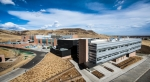 The Energy Systems Integration Facility at the National Renewable Energy Laboratory in Golden, Colorado. | Photo by Dennis Schroeder, NREL.