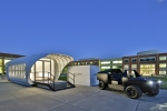 The Additive Manufacturing Integrated Energy (AMIE) demonstration project, a 3D-printed house and car that can share power, is one example of the amazing things that happen when national labs and industry combine their power. | Photo Courtesy: Oak Ridge National Laboratory