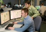 <em>The research engineers in Argonne National Laboratory's Vehicle Modeling, Simulation and Control group who designed the Autonomie modeling tool are continuously investigating new ways to improve it. | Photo courtesy of Argonne National Laboratory.</em>