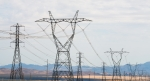 Photo of power transmission lines