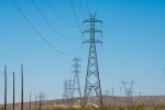 Photo of transmission lines.