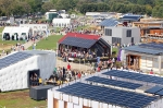 Visitors tour the U.S. Department of Energy Solar Decathlon 2011 in Washington, D.C., Friday, Sept. 30, 2011. | Photo by Stefano Paltera/U.S. Department of Energy Solar Decathlon