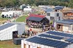 Visitors tour the U.S. Department of Energy Solar Decathlon 2011 in Washington, D.C., Friday, Sept. 30, 2011. | Photo by Stefano Paltera/U.S. Department of Energy Solar Decathlon