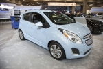 The Chevy Spark EV at the Washington Auto Show.