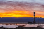 """The <a href=""""/node/801451"""">Ivanpah Solar Electric Generating System</a> in Ivanpah Dry Lake, California. 
