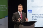 Assistant Secretary for Energy Efficiency and Renewable Energy Dr. Dave Danielson addresses national industry leaders and stakeholders in his remarks at the 2015 AEMC Summit.