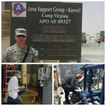Military veterans Daniel Barclay (top left), Keith Striby (bottom left) and Youseff Elkassis (bottom right) are three examples of military participants in the Energy Department's Industrial Assessment Center program that is helping prepare these soldiers for life outside the military as engineers.