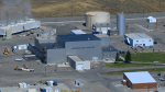 Aerial shot of the Advanced Test Reactor in Idaho.