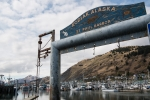 Photo of sign for Kodiak, Alaska
