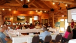 Oak Ridge advisory board members with representatives from DOE, EPA, and TDEC at FY 2017 planning meeting.