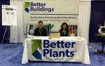 The Better Plants booth at the 2015 World Energy Engineering Congress.