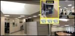 BEMOSS deployment in Equipment Bureau building in Arlington, VA, for control of lighting circuits. Photo Courtesy: BEMOSS team, Virginia Tech
