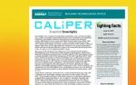 a screenshot of the caliper downlights report.