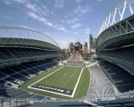 Photo of CenturyLink Field, home of the Seattle Seahawks.