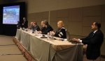 EM Office of River Protection Manager Kevin Smith, far left, provides an update on the Direct-Feed Low-Activity Waste Initiative during a panel session at the Waste Management Conference.