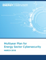 cover page graphic from DOE cyber plan